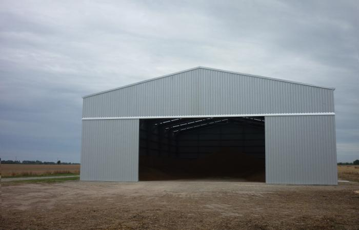 Grain Storage Shed 1