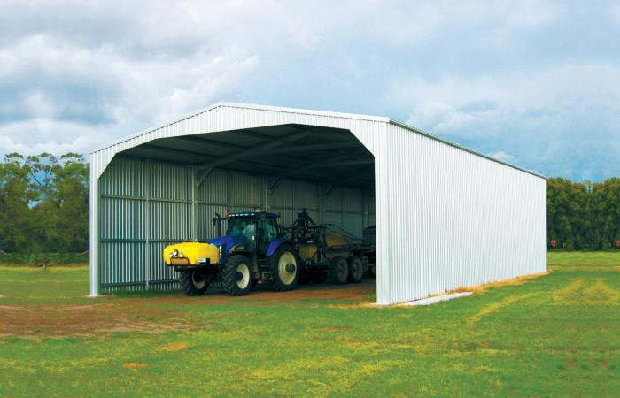 Gable Open Farm Shed Great for Tractor Storage