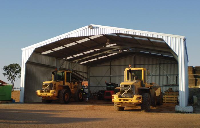 Gable Open Farm Shed Machinery Shed