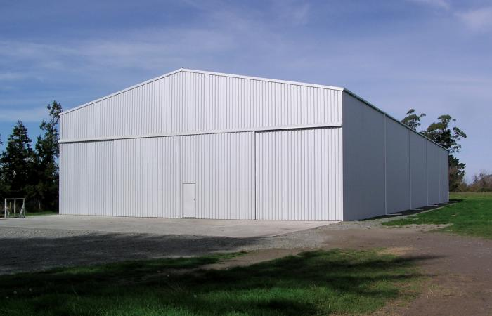 Grain Storage Shed 3
