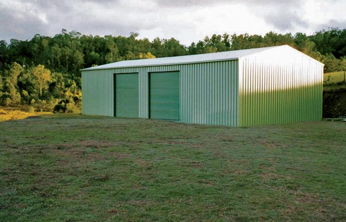 My Serious Workshop Colorsteel large shed