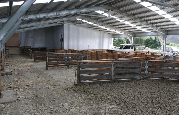 Shearing Sheds Internal Fitout by Others