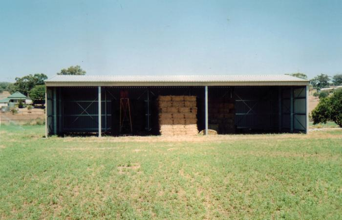 Value Big Openings Hay Shed Colorsteel
