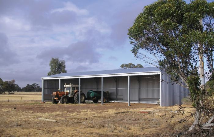 Value Plus Machinery Shed 5 Bays