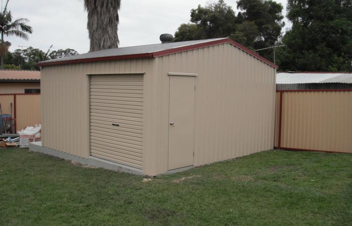Small Storage Shed Colorbond