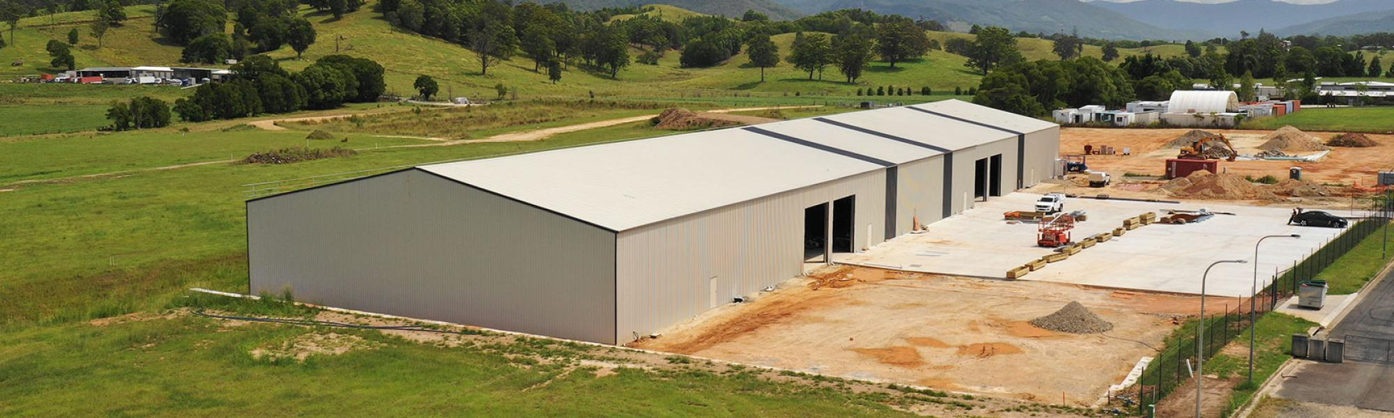 New Zealand's Leading Supplier of Industrial Steel Sheds